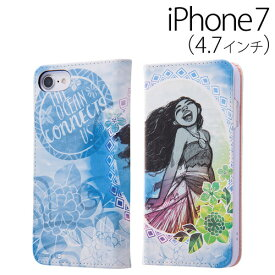 a69efbe0c7 イングレム ディズニー モアナと伝説の海 iPhone7 (4.7インチ) 専用 スマホ