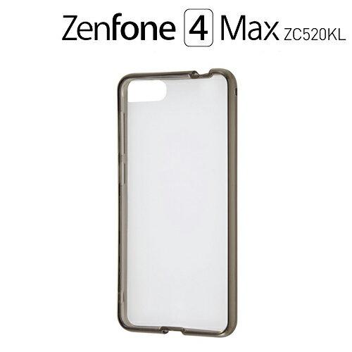☆◆ レイ・アウト ASUS ZenFone 4 Max ZC520KL 専用 ハイブリッドケース ブラック RT-RAZ4MCC2/B【メール便送料無料】