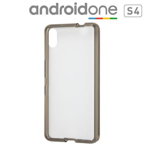 ☆◆ レイ・アウト Y!mobile Android One S4 専用 ハイブリッドケース ブラック RT-ANS4CC2/B【メール便送料無料】