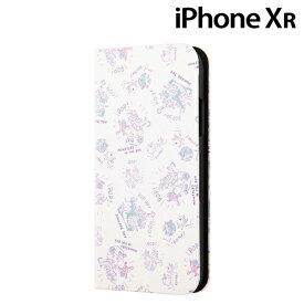 ☆◆ イングレム ディズニー iPhoneXR (6.1インチ) 専用 手帳型アートケース マグネット スリム モンスターズ・インク020 IN-DP18MLC3/MI020