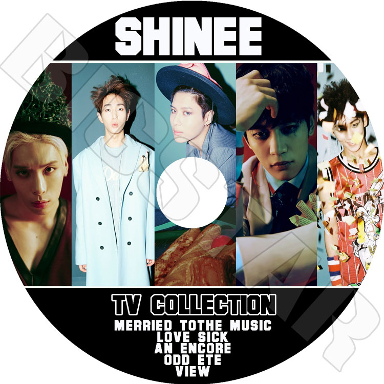 【K-POP DVD】☆★SHINee 2015 TV Collection★Love Sick Married To The Music An Encore【SHINee DVD】