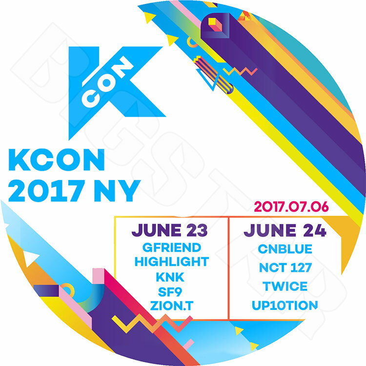 【K-POP DVD】☆★2017 KCON in New York (2017.07.06)★Gfriend Highlight KNK SF9 Zion.t CNBLUE NCT127 TWICE UP10TION 他【LIVE コンサート KPOP DVD】