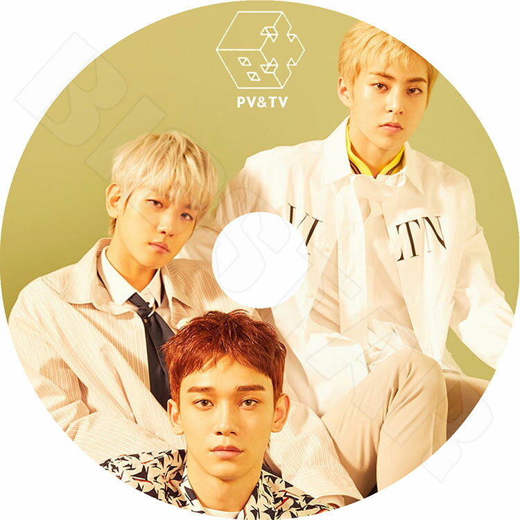 【K-POP DVD】☆★EXO CBX 2018 PV&TV セレクト★Blooming Days Hey MAMA The One For You【エクソ ベクヒョン シウミン チェン KPOP DVD】