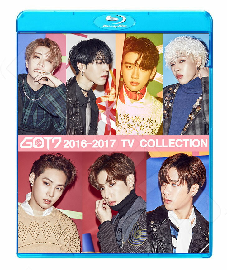 【Blu-ray】☆★GOT7 2017 TV COLLECTION★Q Never Ever Hard Carry Fly See The Light Home Run If You Do【ガットセブン ジェイビー ジュニア マーク ジャクソン ヨンジェ ベムベム ユギョム ブルーレイ KPOP DVD】【メール便は2枚まで】