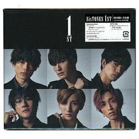 SixTONES 1ST(初回盤B:音色盤)/[CD+DVD]◆新品Ss【即納】【ゆうパケット/コンビニ受取/郵便局受取対応】