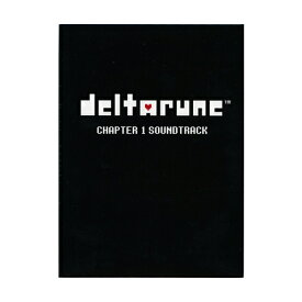 「DELTARUNE」 Chapter 1 サウンドトラック(日本語版)◆新品Ss【即納】【ゆうパケット/コンビニ受取/郵便局受取対応】