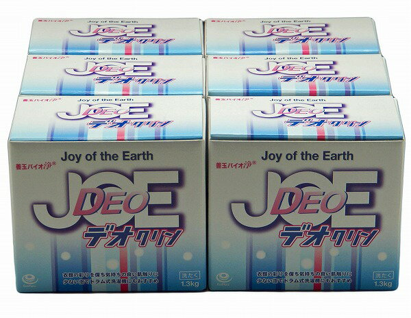 善玉バイオ 浄JOE デオクリン 6箱