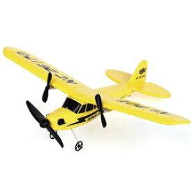※お取り寄せ商品です【巨大飛行機ラジコン ラジオコントロール飛行機 RC R/C イエロー 黄色 軽量】p17104
