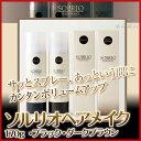 【あす楽対応】ソルリオヘアメイク 170g【・ブラック・ダークブラウン】【男女兼用】【2個で送料無料】【SOLRIO HAIR …