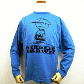 """【スペシャルフェアー!!セール!!】【ゆうパケット送付商品】 BUZZ RICKSON'S × PEANUTS バズリクソンズ × ピーナッツ 長袖 Tシャツ """"CHARLIEBROWN"""" BR68124"""