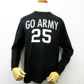 """【セール!! 】【送料無料ゆうパケット送付商品】 BUZZ RICKSON'S バズリクソンズ 長袖Tシャツ """"GO ARMY"""" BR65655"""
