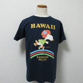 """【セール!!】【送料無料】 SUN SURF × PEANUTS サンサーフ × ピーナッツ Tシャツ """"RAINBOW"""" SS78115"""