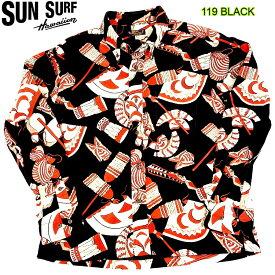"SUN SURF COTTON LONG SLEEVE CORDUROY ""TRADITIONAL HAWAIIAN MOTIF"" サンサーフ コットン 長袖シャツ 長袖ハワイアンシャツ 長袖アロハシャツ 日本製 SS27708"