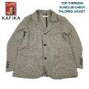 KAFIKA カフィカ TOP THERMO GUNCLUB CHECK TAILORED JACKET トップサーモ 暖かジャケット ガンクラブチェック テーラードジャケット kfk1131