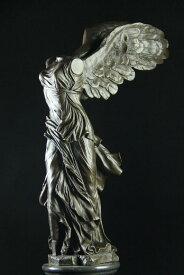 【送料無料】大型ブロンズ像◇サモトラケのニケ◇ルーヴル美術館48cm置物彫刻銅像インテリア