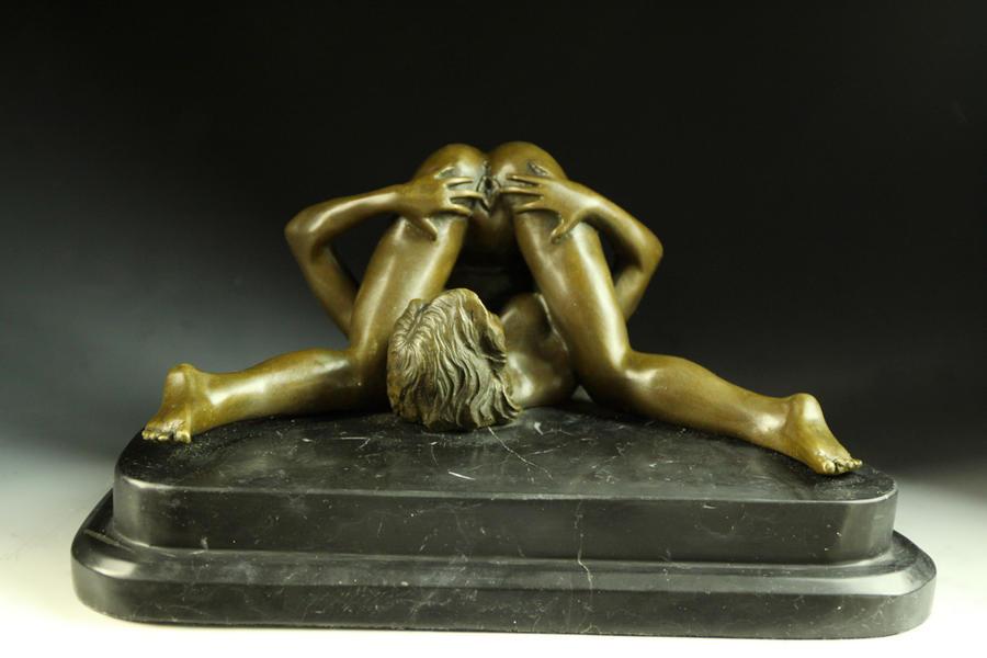 【送料無料】超人気ブロンズ像セクシーな裸女Nino Oliviono名作インテリア彫刻フィギュア