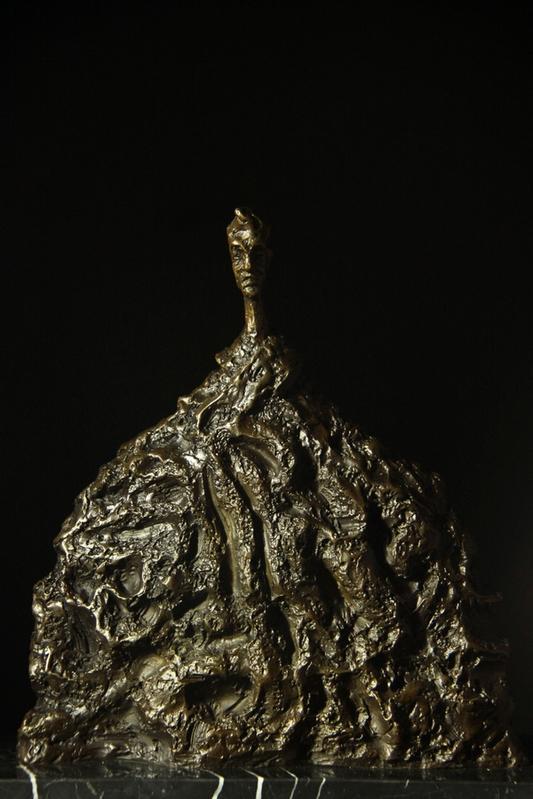 【送料無料】ブロンズ像『男子』ジャコメッティ 名作インテリア 彫刻 銅像