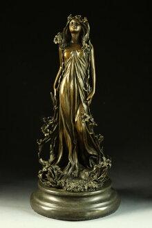 """流行的青铜""""雕像花» Aldo Vitaleh 创建"""
