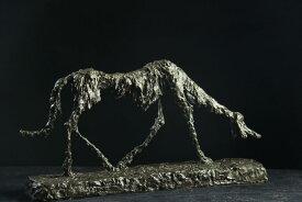 【送料無料】超人気ブロンズ像 犬 ジャコメッティ希少インテリア 彫刻 銅像