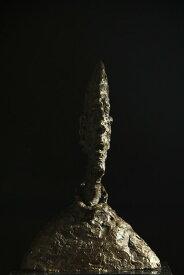 【送料無料】超人気ブロンズ像 ディエゴの大きな頭部ジャコメッティインテリア 彫刻 銅像