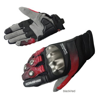 Komine GK-186 protected CE mesh gloves - superb Protect CE M-Gloves-SUPERB KOMINE