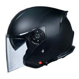 【今だけマスクプレゼント!】ワンタッチインナーバイザー付きジェットヘルメット SG/PSCマーク付き HAYABUSA 隼 バイク用 かっこいい オシャレ クレスト ダブルシールド
