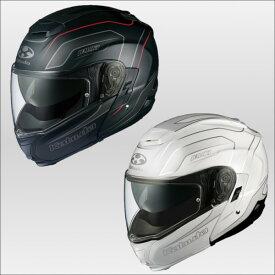 OGKカブト イブキ エンヴォイ システムヘルメット IBUKI ENVOY KABUTO パールホワイト/S
