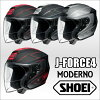 SHOEI J-FORCE4 MODERNO ジェイフォースフォーモデルノ 오픈 페이스 헬멧 제트 헬멧 마운트 웨이
