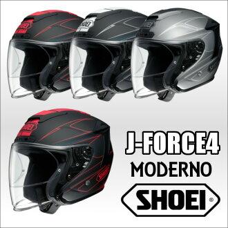 SHOEI J-FORCE4 MODERNO jaforsformoderno open face helmet Jet helmet Iowa
