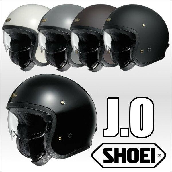 SHOEI J.O ジェイオー オープンフェイスヘルメット ジェットヘルメット ショウエイ