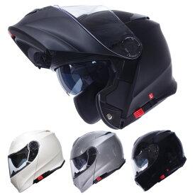 インナーバイザー付きフリップアップシステムフルフェイスヘルメット SG/PSCマーク付き アルファ2 ALPHA2 バイク用 かっこいい クレスト