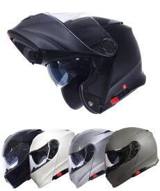 【今だけマスクプレゼント!】インナーバイザー付きフリップアップシステムフルフェイスヘルメット SG/PSCマーク付き アルファ2 ALPHA2 バイク用 かっこいい クレスト バイク用