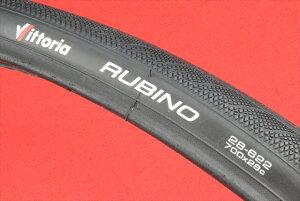 [新品]Vittoria RUBINO 3 ★650C 700C 23C 25C 28C(ビットリア ルビノ3)★クリンチャー【タイヤ】【100】○