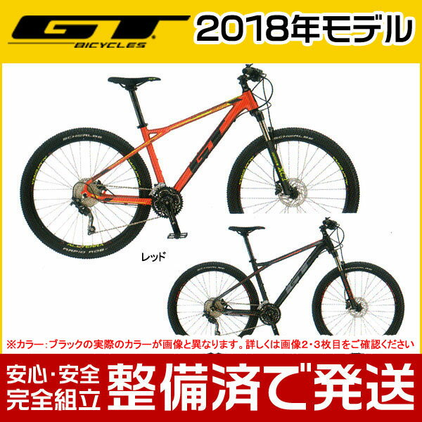 【ポイント6倍!】GT(ジーティー) 2018年モデル AVALANCHE SPORT/アバランチェ スポーツ【27.5インチ】【MTB/マウンテンバイク】