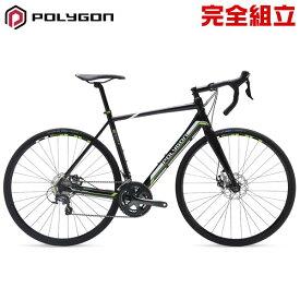 POLYGON ポリゴン 2018年モデル HELIOS C4 DISC ヘリオスC4ディスク ロードバイク【bike-king】