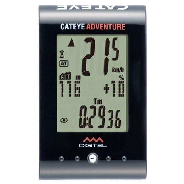 【スマホエントリーでポイント10倍!】CATEYE(キャットアイ)CC-AT200W ADVENTURE [アドベンチャー] 高度、傾斜が分かる山向けメーター