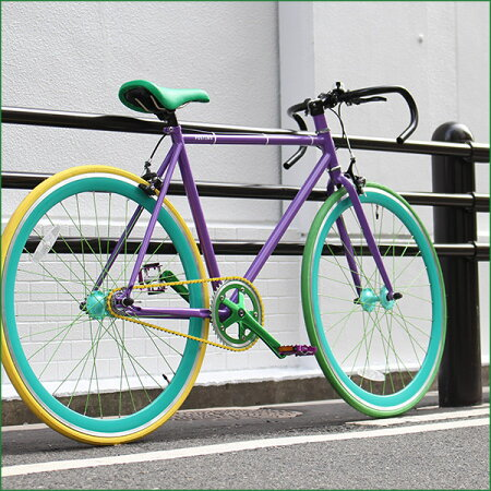 【3/2420:00から開始!エントリーでポイント5倍!】【代引不可】オーダーメイド自転車POSTINO(ポスチーノ)パーツを自由自在にカラーリングできます【ピスト】【シングルスピード】【自転車】