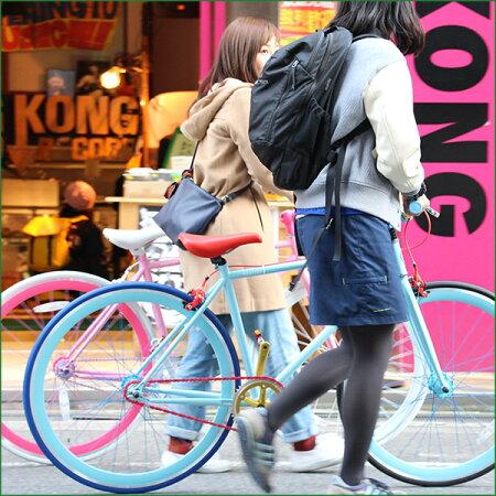 【4/110:00から開始!スマホエントリーでポイント10倍!】【代引不可】オーダーメイド自転車POSTINO(ポスチーノ)パーツを自由自在にカラーリングできます【ピスト】【シングルスピード】【自転車】