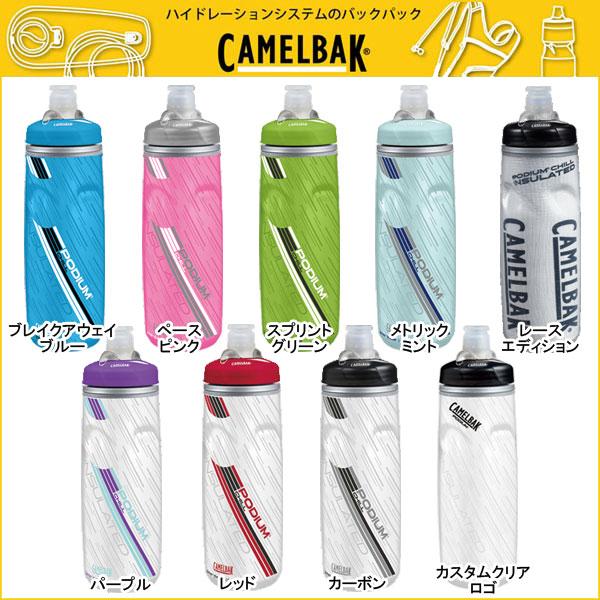 【スマホエントリーでポイント10倍!】CAMELBAK(キャメルバック) ポディウムチルボトル PODIUM CHILL BOTTLE 0.61L