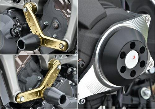 レーシングスライダーセット エンジンハンガースライダーΦ60(左右セット)&ジェネレーター側 AGRAS(アグラス) MT-09