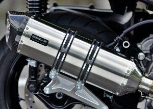 GT-CORSAマフラーステンレスサイレンサー政府認証BMS-R(ビームス)XMAX250(2BK-SG42J)18年