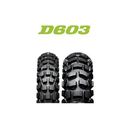 ダンロップタイヤ(DUNLOP)Buroro(ブロロ) D603(リア) 4.60-17 62P WT