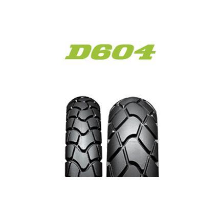 ダンロップタイヤ(DUNLOP)Buroro(ブロロ) D604(リア)120/80-18 MC 62P WT