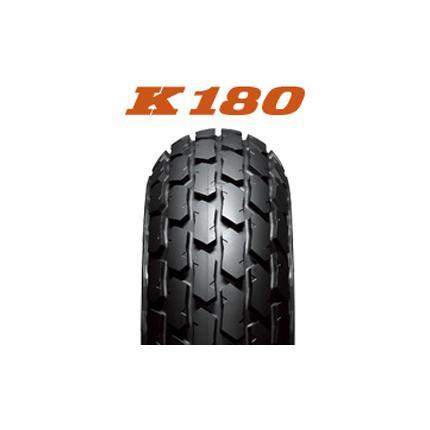 ダンロップタイヤ(DUNLOP)DIRT TRACK K180(フロント/リア)4.60-18 63P WT