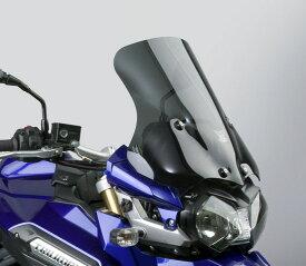 NATIONAL CYCLE VStreamウインドシールド ダークスモーク H424×W472mm DAYTONA(デイトナ) TRIUMPH Tiger Explorer/XC(12〜14年)
