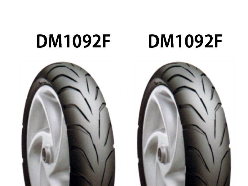 超扁平タイヤ前後セット DM1092F 100/60-12・DM1092F 110/60-12 DURO(デューロ) グランドアクシス100(GRAND AXIS)