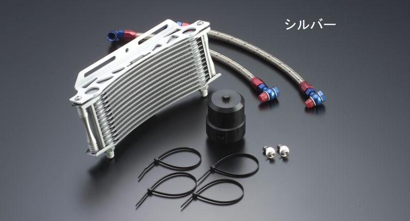 ビッグラジエーター専用 ラウンドオイルクーラーキット #6 9-13R ブラック仕様 EARL'S(アールズ) V-MAX1200(96〜08年)