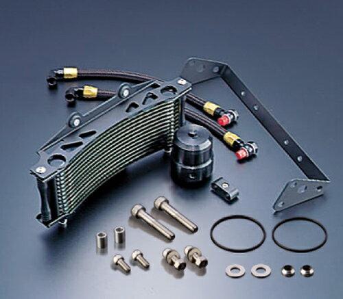 オイルクーラーキット ラウンド #6 9-13R ブラック仕様 EARL'S(アールズ) V-MAX1200(96〜08年)