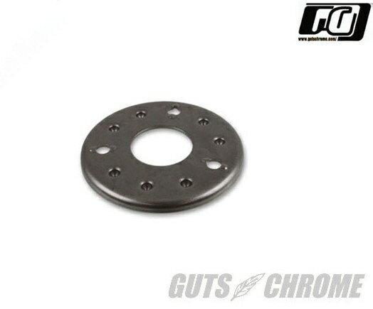 100-0265 クラッチプレッシャープレート3スタッド GUTS CHROME(ガッツクローム)