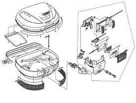 Z626 リフレクター(中央裏紙)(E52補修品) GIVI(ジビ)